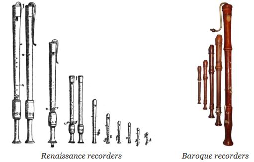 Renaissance and Baroque Recorders